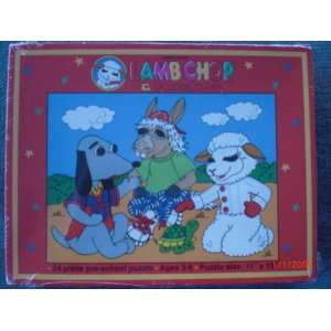 Shari Lewiss Lamb Chop & Friends 24 piece pre school