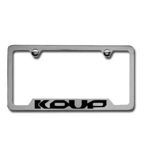 Kia Forte Koup Chrome License Plate Frame: Automotive
