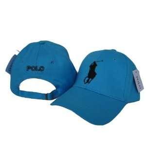 Polo by Ralph Lauren   Blue Adjustable Cap Hat Sports