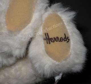 HARRODS Knightsbridge Jointed Cream TEDDY BEAR Sweater