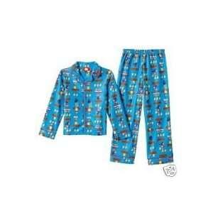 NWT Nintendo New Super Mario Bros. Fleece Pajama Set 4