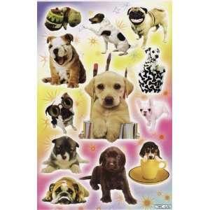 THE DOG Puppy Animal Vinyl Decal Sticker Sheet P31