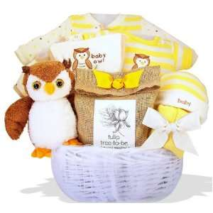 Owl Always Love You Personalized Baby Gift Basket Baby