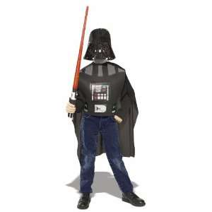Vader Child Costume & Accessory Kit with Lightsaber Toys & Games