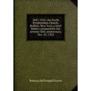fifth anniversary, Dec. 29, 1922: Rebecca McDougall Graves: Books
