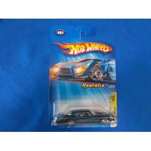 Mattel Hot Wheels 2005 Scale Blue 1971 Buick Riviera Die