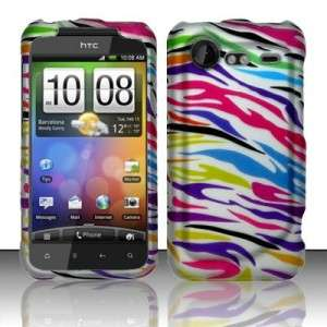 Tropical Zebra Hard Cases Covers fit HTC Incredible 2 S
