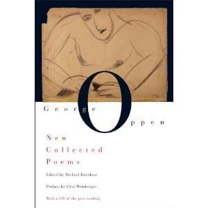 New Collected Poems (with CD) [Paperback] George Oppen Books