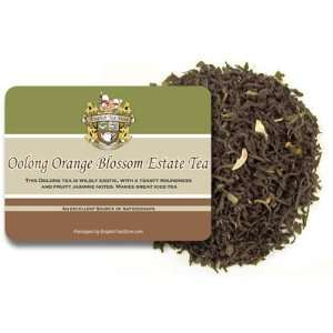 Oolong Orange Blossom Estate Tea   Loose Leaf   4oz: