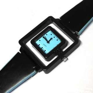 Xmas Gift Unique Sport Men Lady Compass Nylon Quartz Wrist Watch