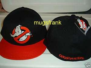 Nwt Ghostbusters Movie Logo Flex Fit Flat Bill Hat