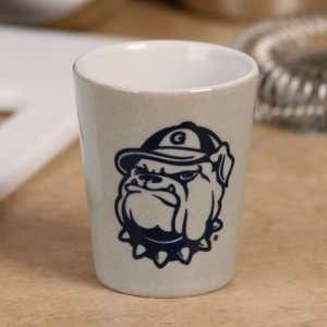 Georgetown Hoyas 2oz. End Zone Ceramic Shot Glass