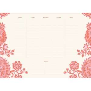 Desktop Planner, 16X11 Inches, 52 Sheets (44737): Office Products