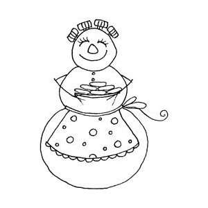 Penny Black Rubber Stamp 2X2.25 Christmas Cookies; 2