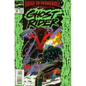Ghost Rider #42 Road to Vengeance Books