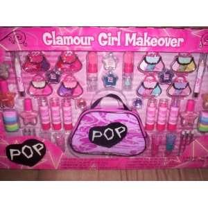Pop Glamour Girl Makeover/Girls Lip Gloss/Lip Stick/Nail