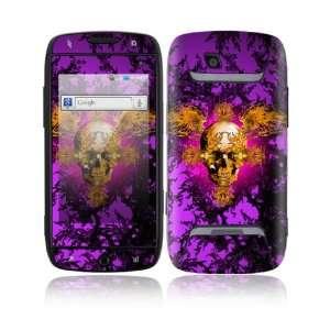 Gothika Skull Decorative Skin Cover Decal Sticker for Samsung Sidekick