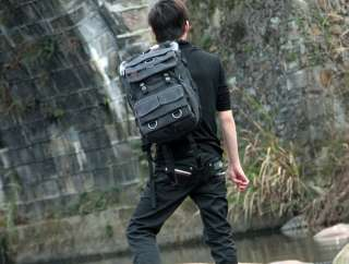 waterproof SLR Camera Laptop Backpack Bag Canon EOS Nikon Sony New Gud
