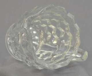 Vintage Fostoria American Glass Creamer 4