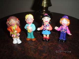 The Puzzle Place Set of 4 Character Dolls 1993