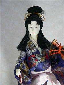 Beautiful JAPANESE Collectible Doll Typical Geisha |