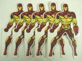 Iron Man5 Happy Birthday Cards(Movie)Marvel Comic 1995