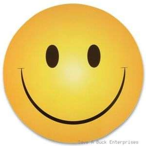 100 SMILEY SMILE HAPPY FACE MAGNETS wholesale lot )