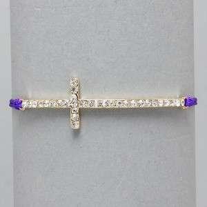 NEW Shambala Unique Adjustable Shamballa Cross Bracelet *Fast Free