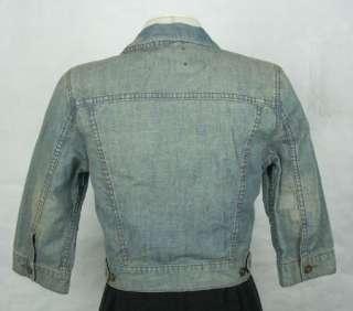 LUCKY BRAND Womens Denim Jean Jacket size M