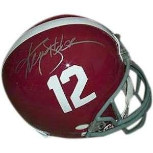 Ken Stabler Alabama Crimson Tide Autographed Riddell