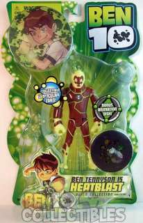 Ben 10 Original Series Action Figure   Heatblast