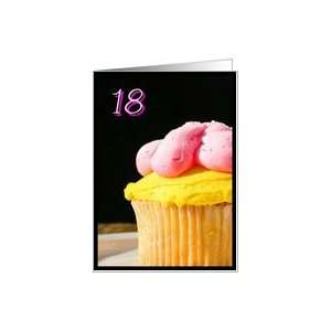 Happy 18th Birthday muffin Card: Toys & Games