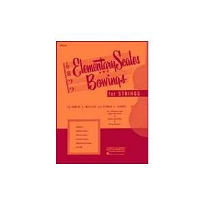 Elementary Scales And Bowings   Piano Accompaniment Composer Harvey S