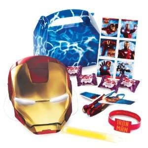 Lets Party By Iron Man 2 Party Favor Box