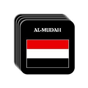 Yemen   AL MUDAH Set of 4 Mini Mousepad Coasters