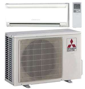 Mitsubishi Mr Slim 26 Seer Mini Split Heat Pump 9k btu