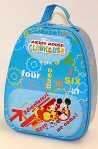 Disney Mickey Mouse Club Tin Mini Backpack Lunch Box