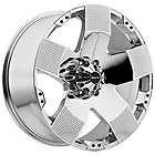 20 inch Ballistic Hyjak chrome wheels rims 5x150 +30 Toyota Tundra
