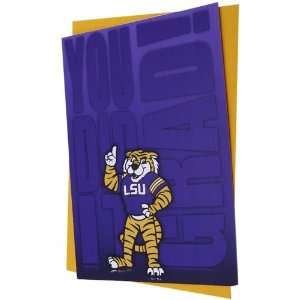 LSU Tigers Team Mascot Graduation Card: Sports & Outdoors