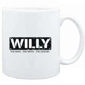Mug White  Willy  THE MAN   THE MYTH   THE LEGEND  Male