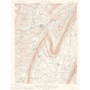 USGS TOPO MAP HOLLIDAYSBURG QUAD PA 1903 Home & Kitchen