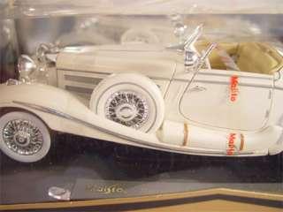 MaiSto Mercedes Benz 500 K 118 Scale Toy Car Boxed