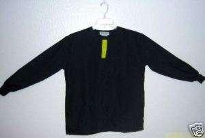 Medical Uniforms Jacket Black   XL