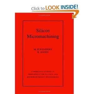 Microelectronic Engineering) (9780521607674) M. Elwenspoek, H. V