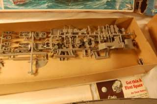 GERMAN BATTLESHIP BISMARK + USS JOHN PAUL JONES MODEL KITS