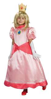 Super Mario Bros Dlx Princess Peach Costume Child Small