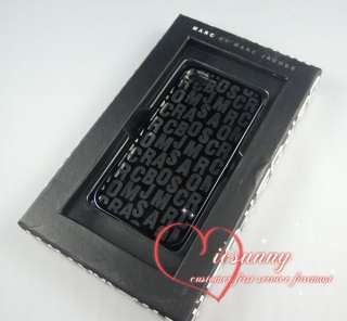 New Marc by Marc Jacobs iPhone 4 4S Hard Case Black