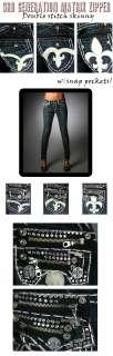 Laguna Beach Jeans Women MATRIX ZIPPER SKINNY 3rd gen