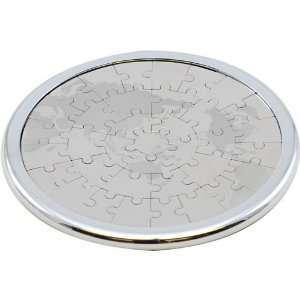 Inform Designs Coaster Puzzle   World Map   Magnetic Toys