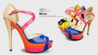 2012 New Mary Jane Women Shoes Platforms Stilettos High Heels Sandals